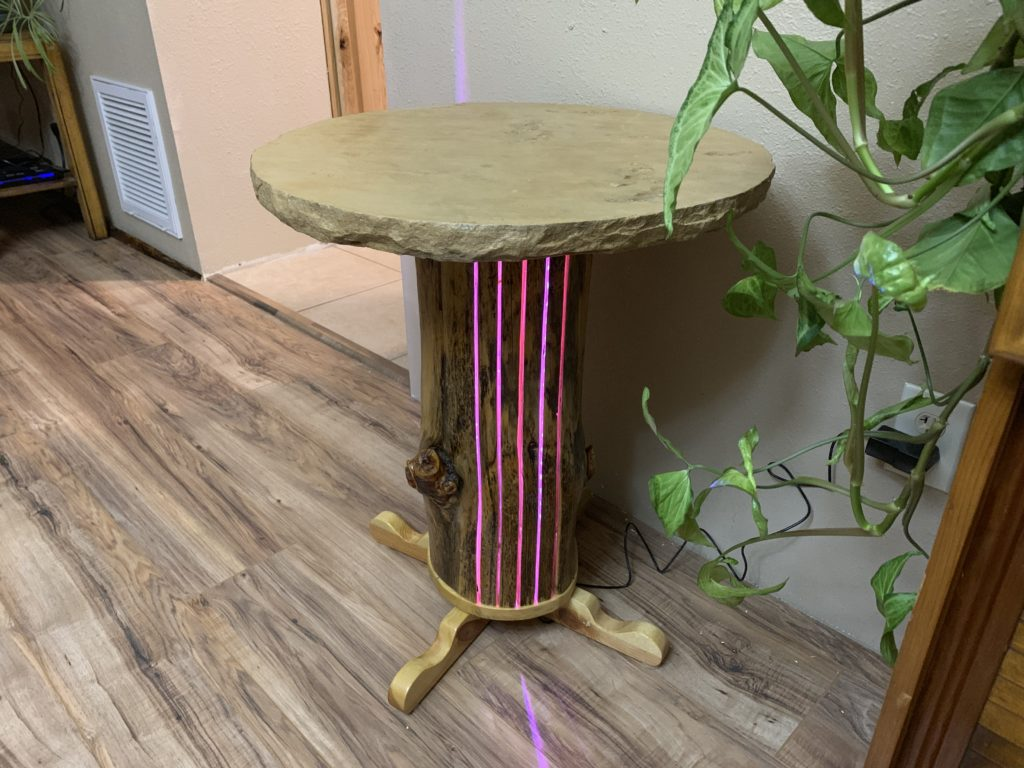 Flagstone Table Log